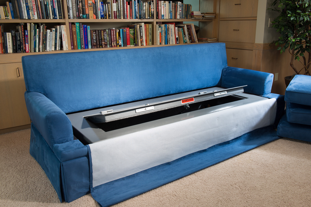 Couch Bunker Safe and Hidden Safe Furniture : BedBunker Safes