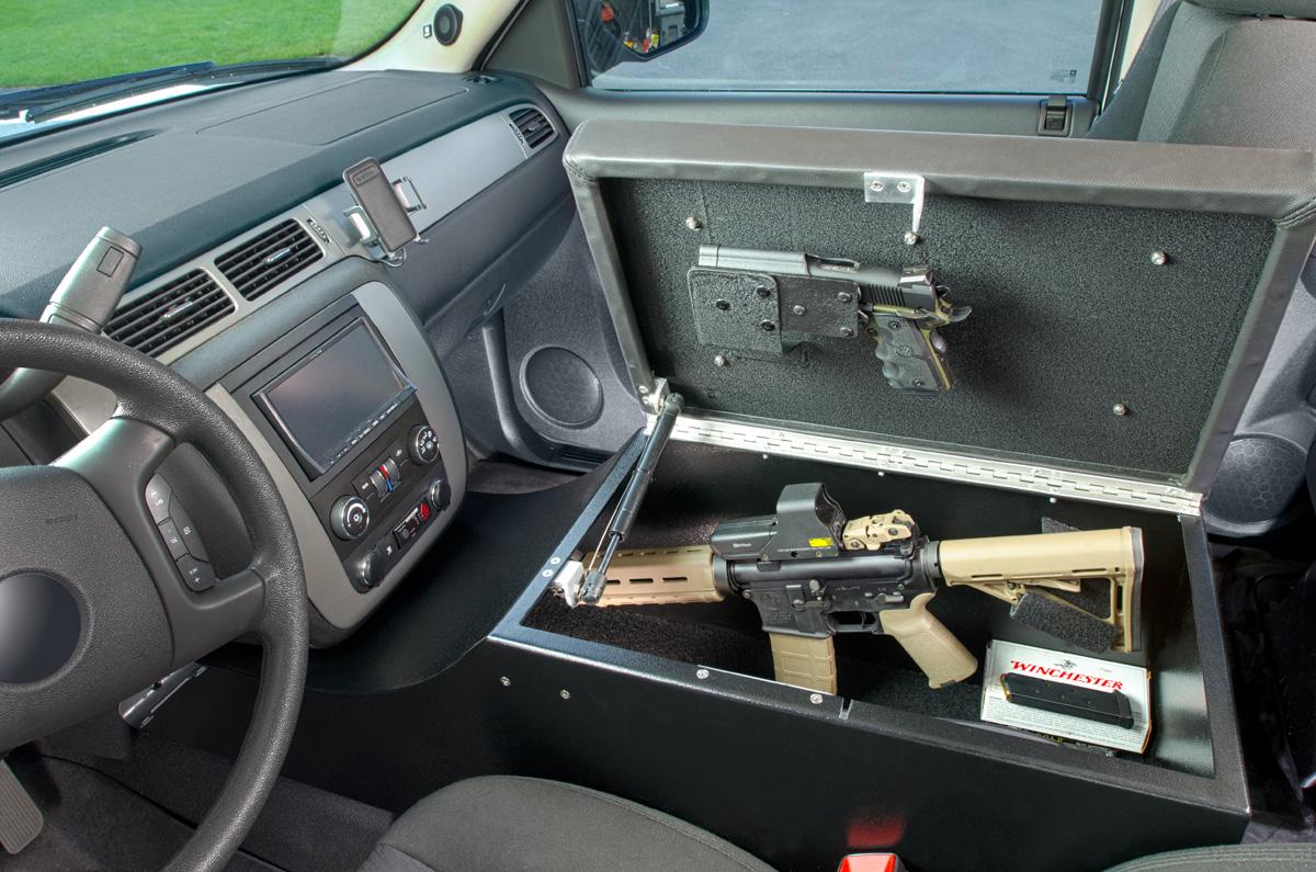 Console Bunker and Car Safes : BedBunker Safes
